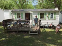 Camping les prades mobil-home familial randos