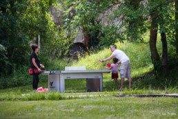 camping les Prades tables ping pong tournois famille