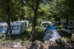camping les Prades emplacement tentes caravannes aveyron peyreleau