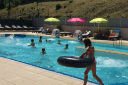 camping les Prades piscine toboggan 4 étoiles