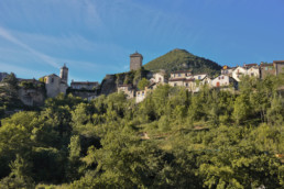 camping les Prades village medieval visite peyreleau