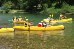 camping les Prades Gorges du Tarn canoe kayak