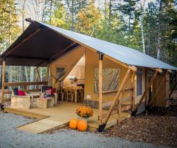 Lodge camping Les prades