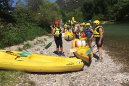 camping les Prades location canoe kayak plage tarn