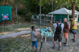 camping les Prades animation tir arc gorges du tarn