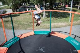 camping les Prades trampoline animation enfant