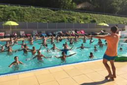 camping les Prades aquagym sauna piscine