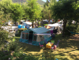 Camping les prades emplacement camping car tentes