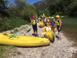 camping les Prades animation canoe kayak descente Tarn