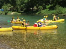 camping les Prades descente canoe kayak gorges du Tarn