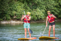 camping les Prades stand up paddle gorges du tarn