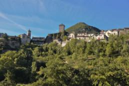 camping les Prades visite village medieval peyreleau aveyron